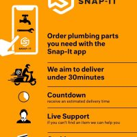 Snap-IT App Plumbing & Heating Same Day Delivery Within 30 Minutes
